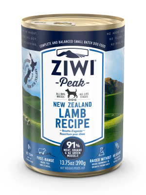 ZIWI PEAK DOG LAMB WET FOOD - 390G