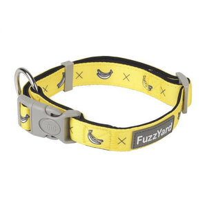 FUZZYARD DOG COLLAR - MONKEY MANIA