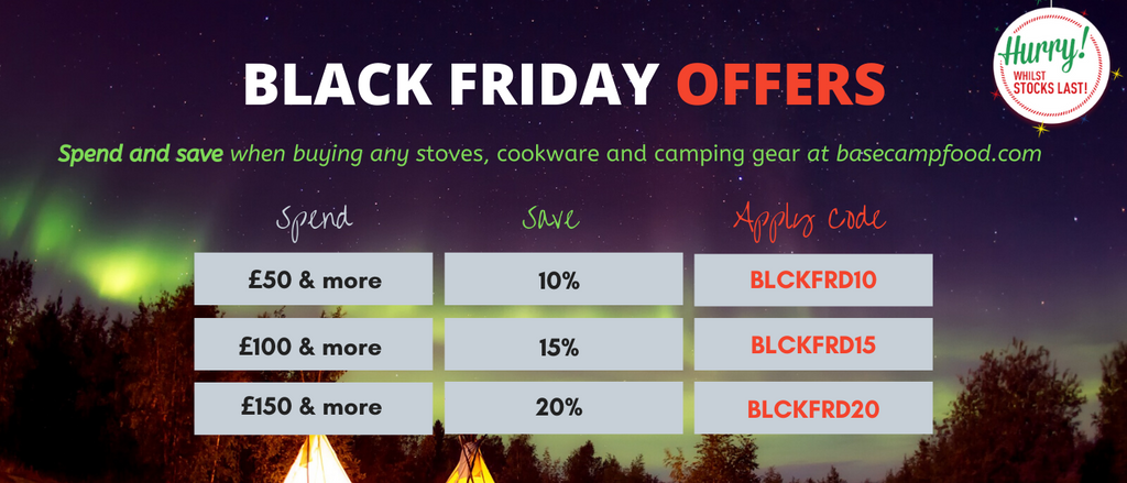 Black friday sale camping gear cookware stoves tents hydration