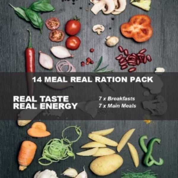 Real Turmat 14 Meal Ration Pack