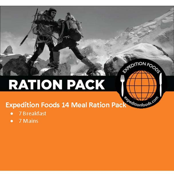 Expedition Foods 14 Meal Ration Pack