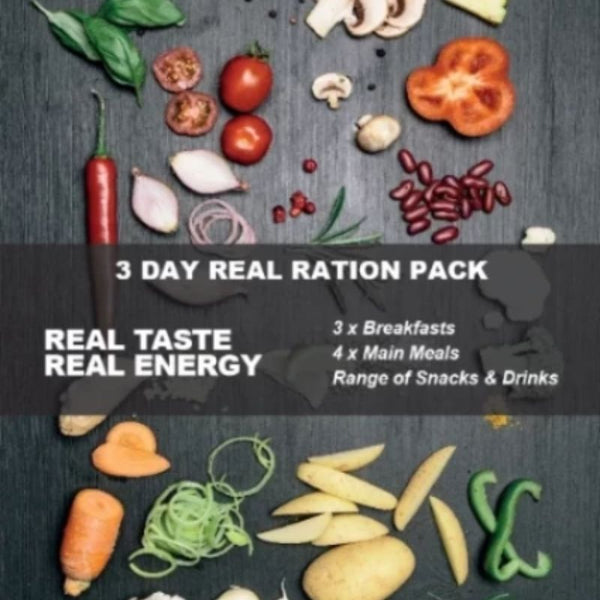 Real Turmat 3 Day Ration Pack