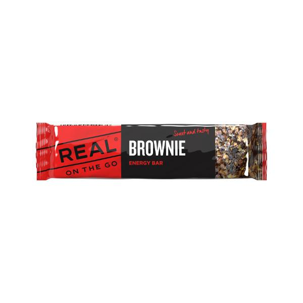 Real Turmat Brownie Energy Bar