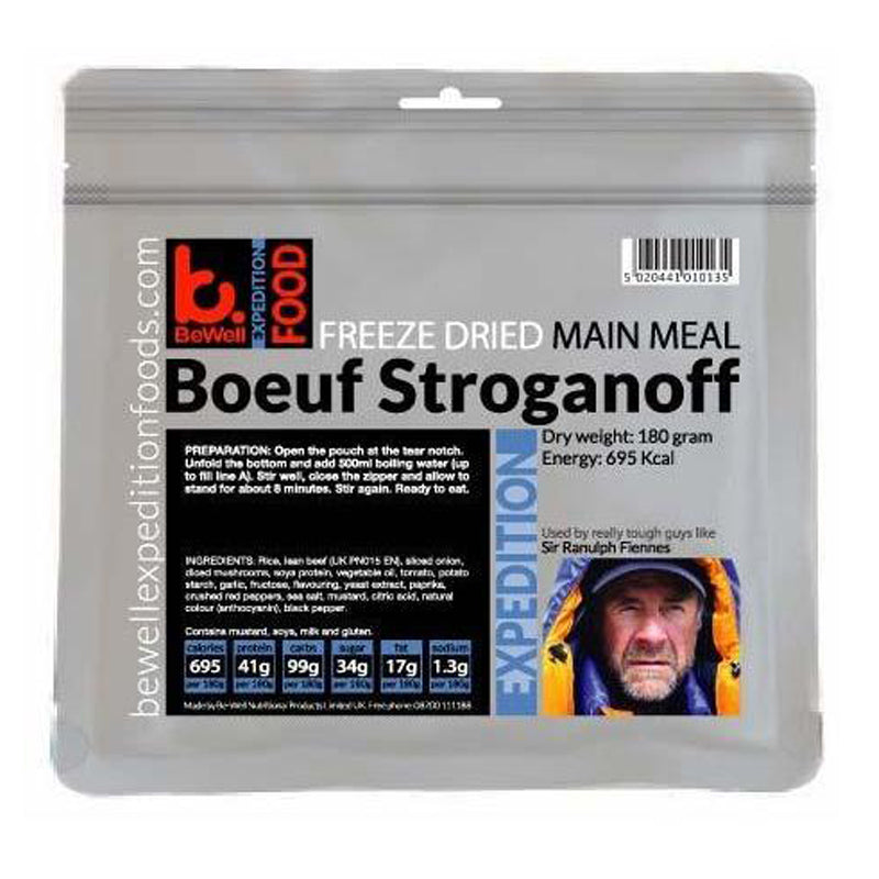 BeWell Expedition Food Boeuf Stroganoff