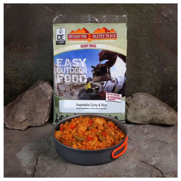 Beyond The Beaten Track Vegetable Curry and Rice - Hot Meal Kit