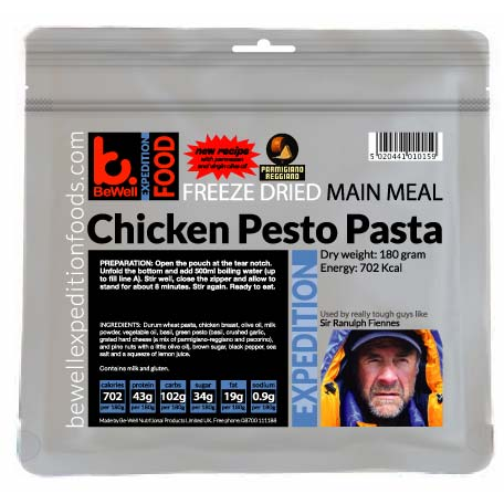 BeWell Expedition Chicken Pesto Pasta