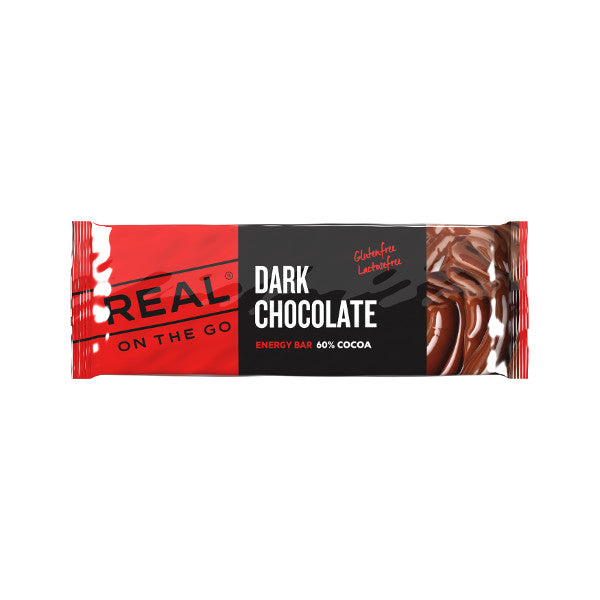 Real Turmat Dark Chocolate Energy Bar 50g