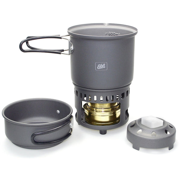 Esbit 985ml Cookset (Spirit/Solid Fuel)