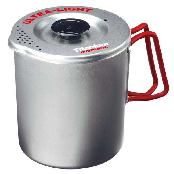 Evernew Ultra-Light Titanium Pasta Pot 0.75L