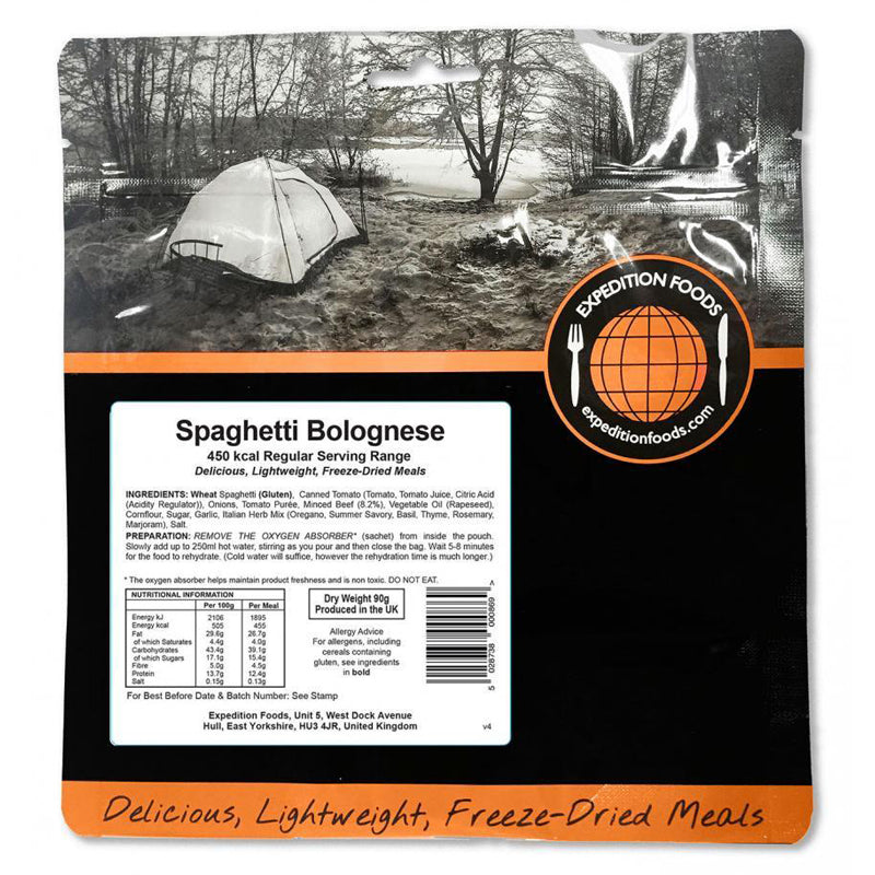 Expedition Food Spaghetti Bolognese