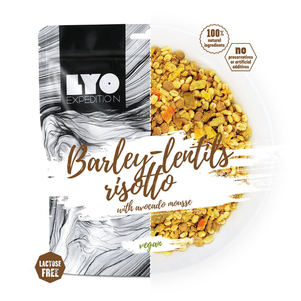 LYO Expedition Vegan Barley and Lentil Risotto
