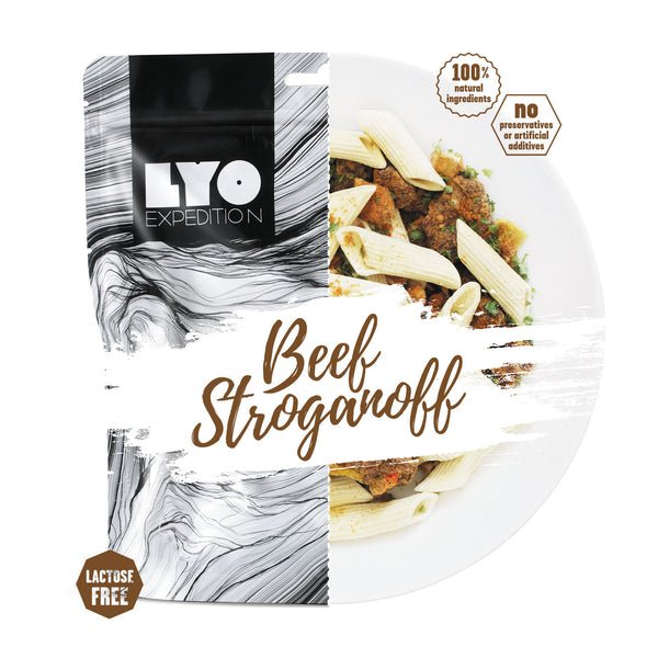 LYO Expedition Beef Stroganoff