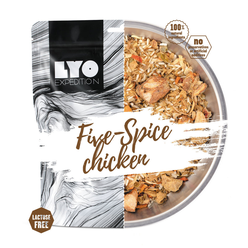 LYO Expedition Five Spice Chicken and Rice