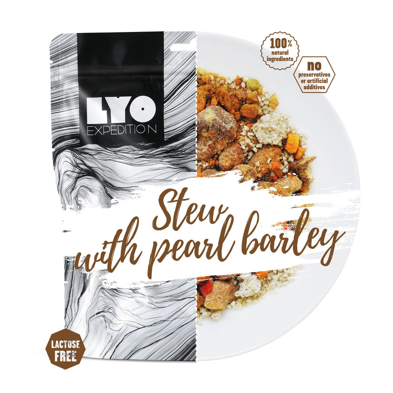 LYO Expedition Pork Stew with Pearl Barley