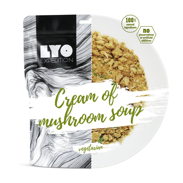 LYO Expedition Cream of Mushroom Soup
