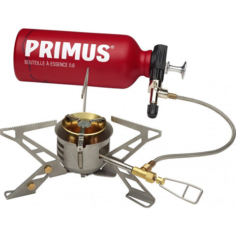 PRIMUS Omnifuel II with bottle and multi-tool