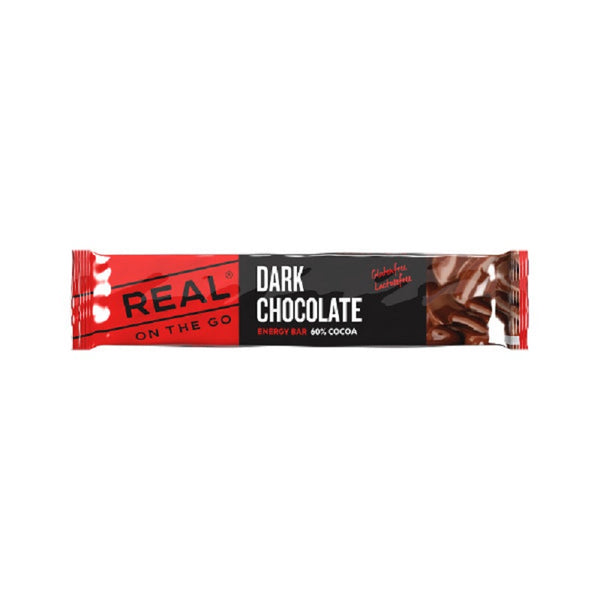 Real Turmat Dark Chocolate Energy Bar 25g