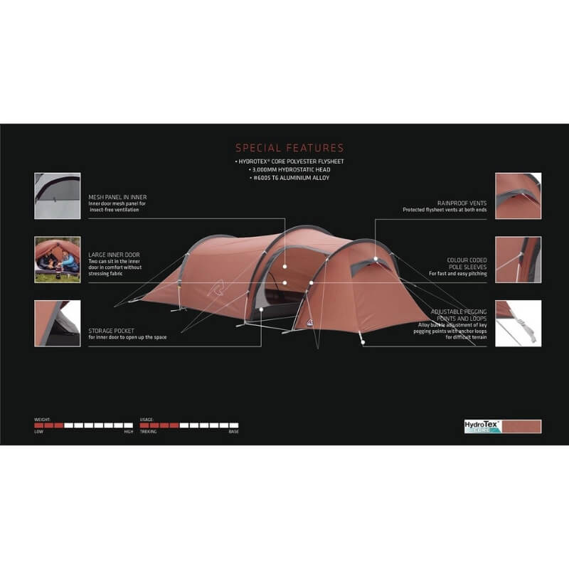 Robens Arch 2 Man Tent Special Features