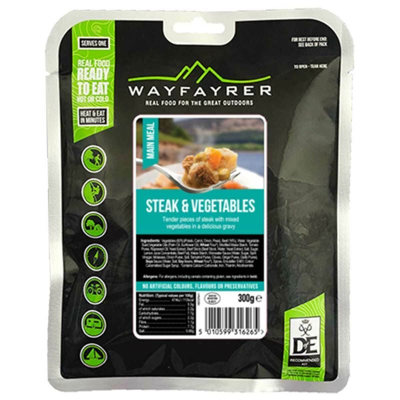 Wayfayrer Steak and Vegetables