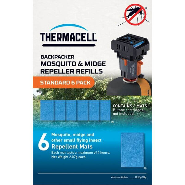 Thermacell  Backpacker Mat-Only Refills 12 h