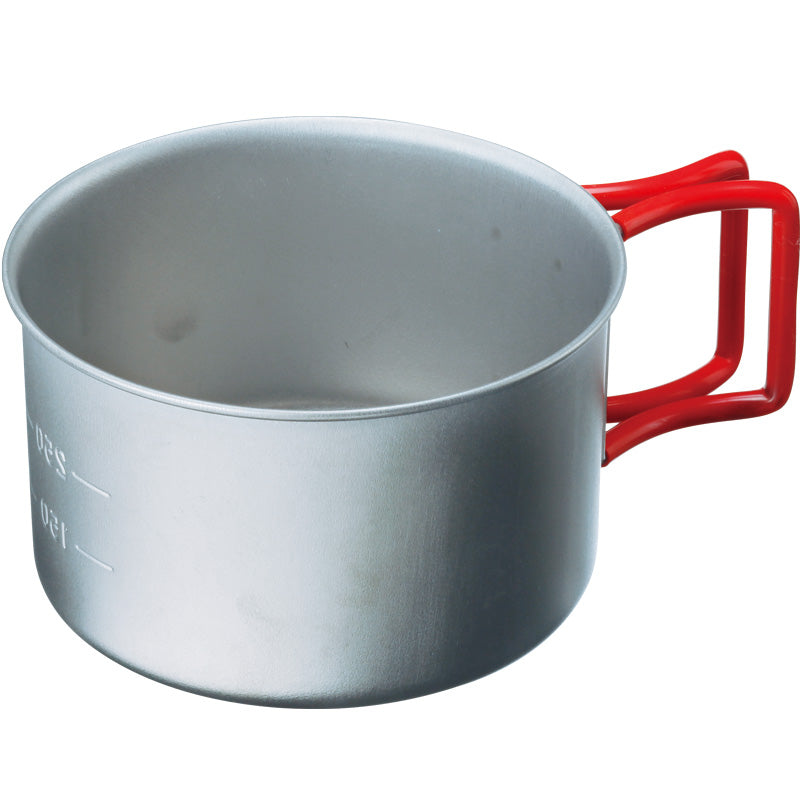 Evernew Titanium Cup 400 (Red Handle)