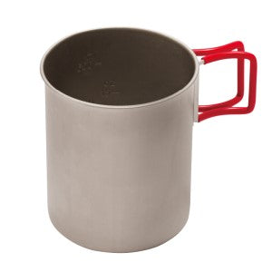 Evernew Titanium Cup 760 (Red Handle)