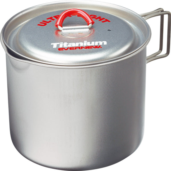 Evernew Ultralight Titanium Mug Pot 900