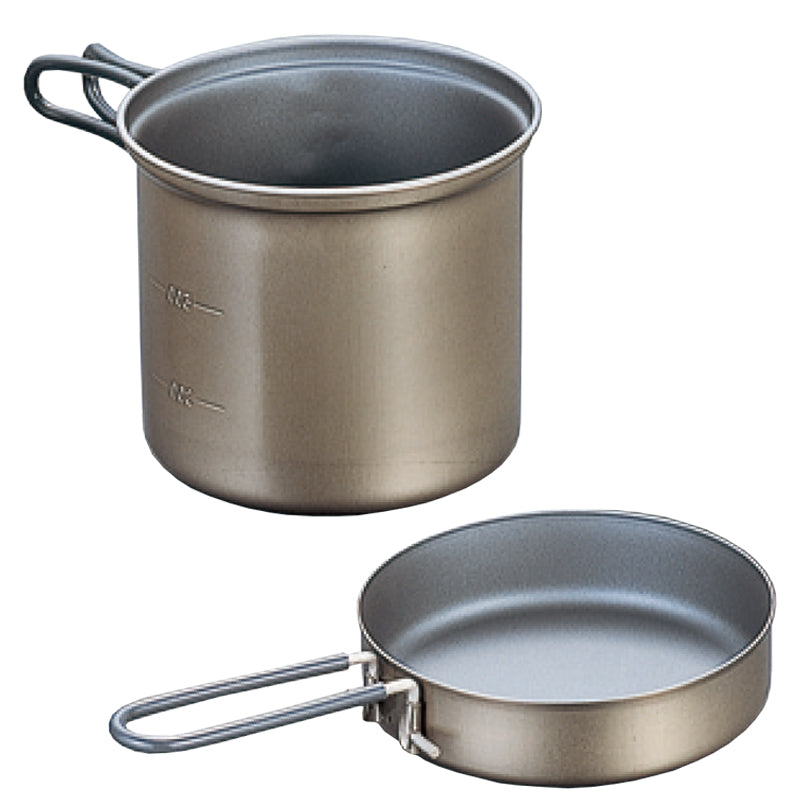Evernew Titanium Non-stick Deep Pot 900ml