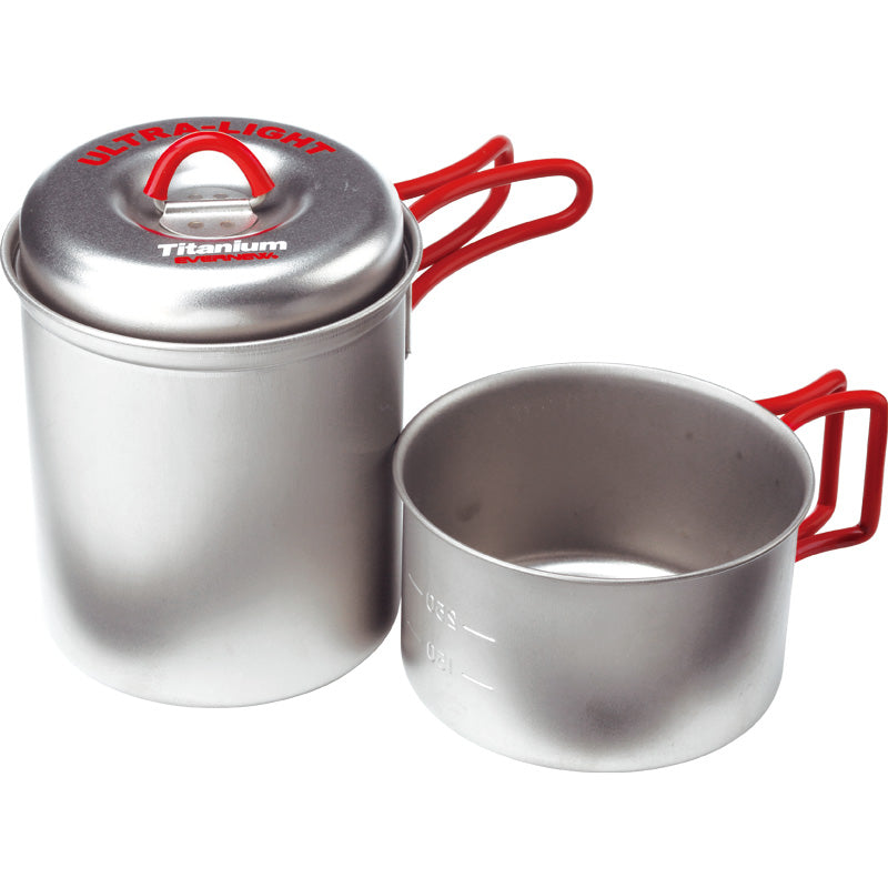 Evernew Titanium Stacking Solo Pot / Mug Set