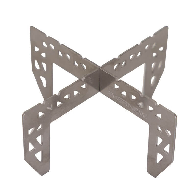 Evernew Titanium Alcohol Stove Trivet / Cross Stand 2
