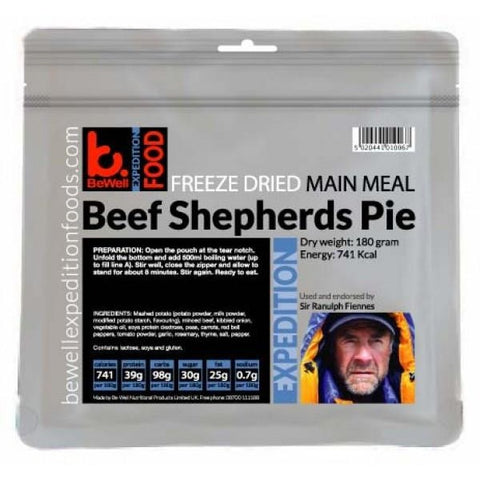 BeWell Expedition Beef Shepherds Pie