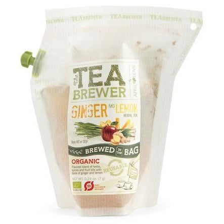 Grower's Cup Ginger and Lemon Herbal Tea Organic