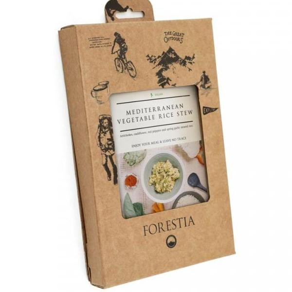Forestia Mediterranean Vegetables Rice Stew - Self Heating