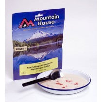 Mountain House Rice Pudding with Strawberries