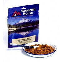 Mountain House Chilli Con Carne with Rice