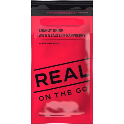 Real Turmat Energy Drink Raspberry