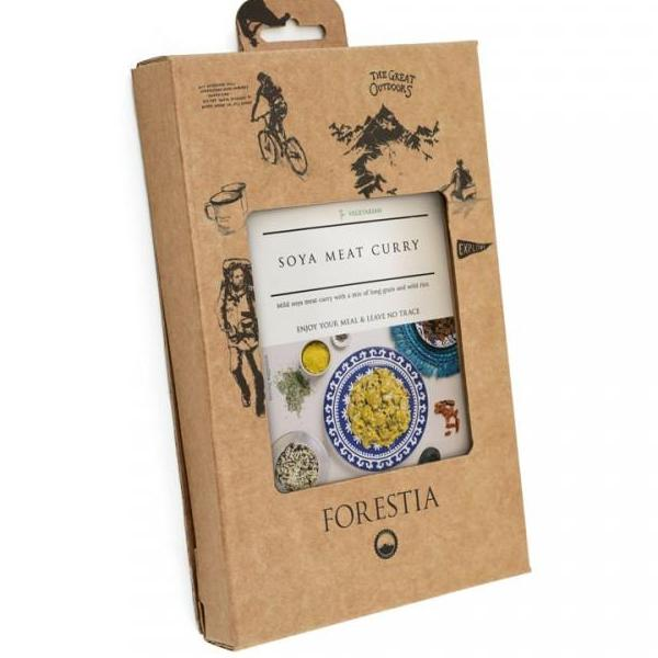 Forestia Soya Meat Curry - Self Heating