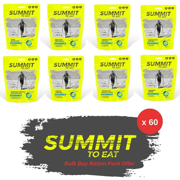 Summit to Eat Tasty Bulk Buy Ration Pack
