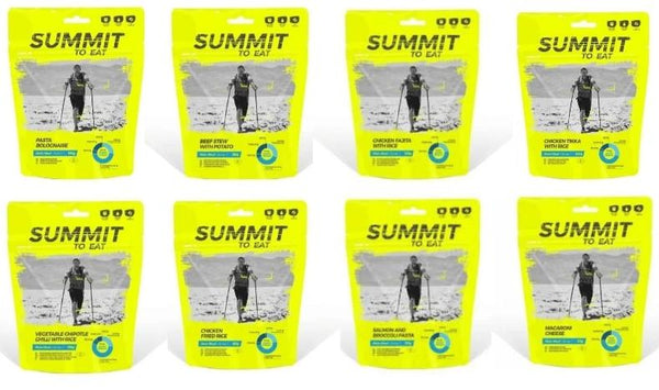 Summit to Eat Tasty Bulk Buy Ration Pack 30 Meals
