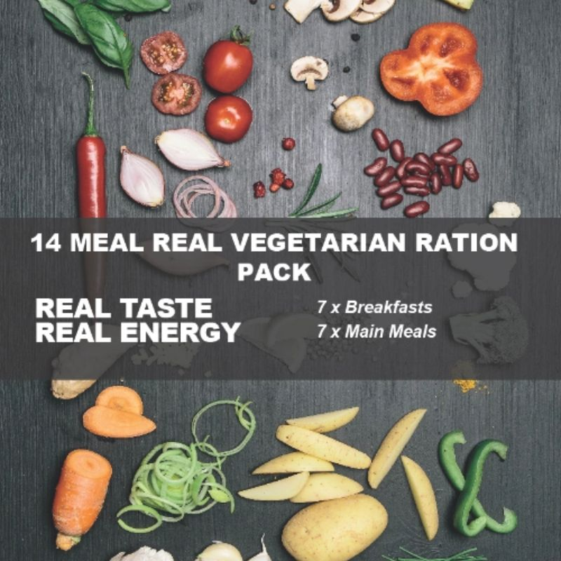 vegetarian ration pack