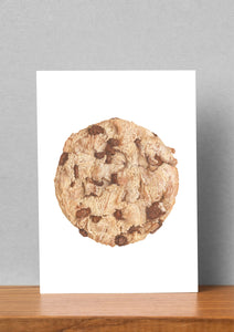 Cookie Monster Large Art Card