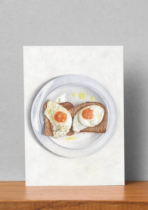 Good Eggs Large Art Card