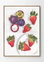 Load image into Gallery viewer, Mangosteens & Strawberries