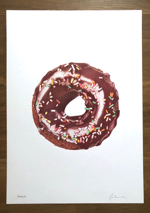 Sprinkles Original Hand Drawing