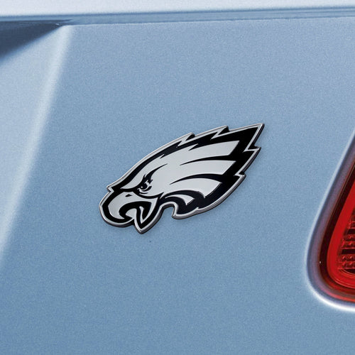 Philadelphia Eagles NFL Chrome Auto Emblem ~ 3-D Metal