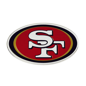 San Francisco 49ers Embossed Color NFL Emblem
