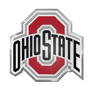 Ohio State University Embossed Color Emblem