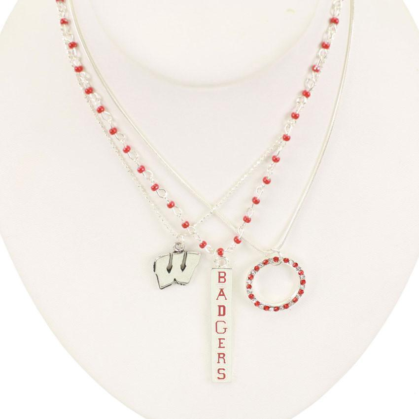 Wisconsin Trio Necklace Set