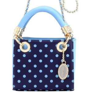 SCORE! Game Day Bag Purse Jacqui Classic Top Handle Crossbody Satchel  - Navy Blue and Light Blue Sporting Kansas City, San Diego Toreros, Rhode Island Rams, Maine Black Bears, Tennessee Titans, Dallas Mavericks, Denver Nuggets, Old Dominion Monarchs, 