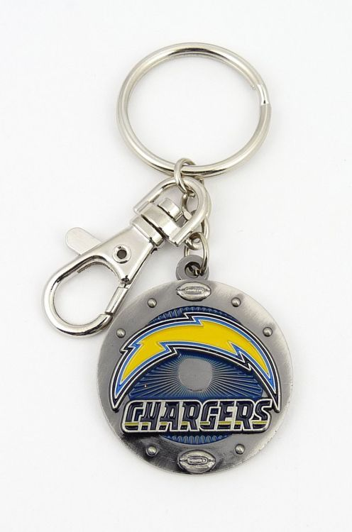 Los Angeles Chargers NFL Logo Impact Keychain